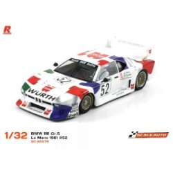 BMW M1 Gr.5 Le Mans 1981 n.52 Wurth Racing AW