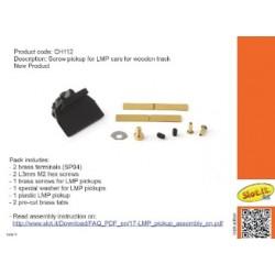 Guía LMP con tornillo para pista de madera