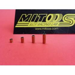 Spacers metal 3, 5, 7 y 9mm para ejes 2.38mm