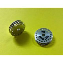 Polea dentada MXL z20 aluminio con tornillo M2,5 - 1ud