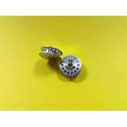 Polea dentada MXL z14 aluminio con tornillo M2,5 - 1ud