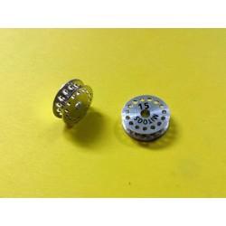 Polea dentada MXL z15 aluminio con tornillo M2,5 - 1ud
