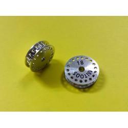 Polea dentada MXL z18 aluminio con tornillo M2,5 - 1ud