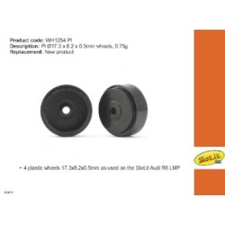 Llanta plastico 17.3x8.2x0.5mm 0.75g