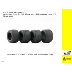 Neumáticos F22 F1