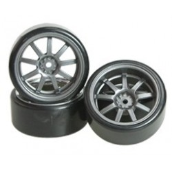3 RACING llantas drift offset 7mm