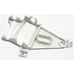 Soporte motor triangular ángulo evo duro blanco
