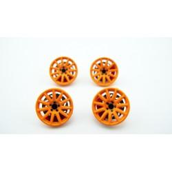 Rally cover 15,5mm (x4) - Orange