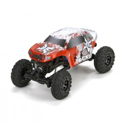 Temper 1:24 Rock Crawler: Yellow/White RTR