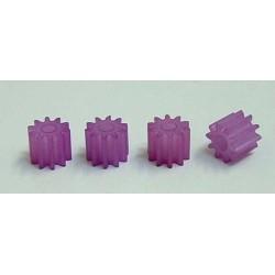 Piñón 10z nylon (4 uds)