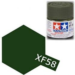 PINTURA ACRILICA XF-58, verde oliva