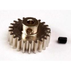 TRX-3952 - Gear, 22-T pinion (32-p) (mach.steel)/set screw