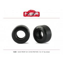 Neumaticos delantero Slick no-friction llanta 13 F