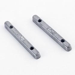 SRC RM1201 - Lastre metálico 4gr x 2uds