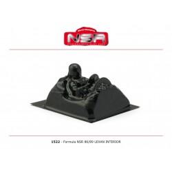 NSR1522 - Cockpit de lexan Formula 1 86-89