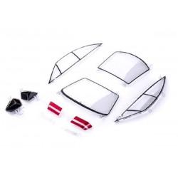 Despiece Opel Calibra DTM (cristales y ópticas) de Slot.it - SICS36V