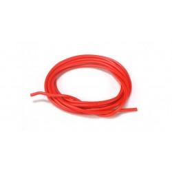 Cable 1mm. rojo siliconado de Scaleauto - SC-1610