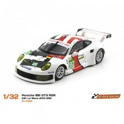 SC-6065R - Porsche 991 RSR Le Mans 2013 - N92 R de Scaleauto