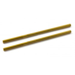 65 x 2.38mm Eje Acero Gold Surface x2