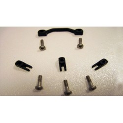 Topes soporte motor con 4 topes + 5 tornillos