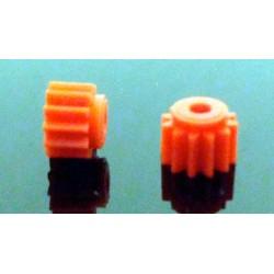 TH-PN12PL - Piñon nylon 12 dientes diametro 7mm - Thunderslot