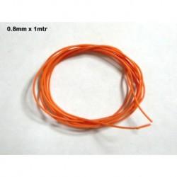 M-CBL01 - Cable silicona 0,8mm x 1 mtr - de Mustang Slot