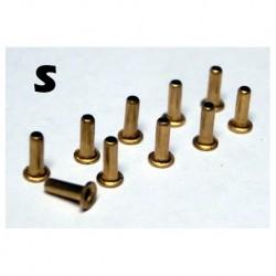 M-TR001 - 10 Terminales cable diametro pequeño S de Mustang Slot