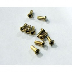 TT550 - 10 x Terminales / diametro medio de tectime
