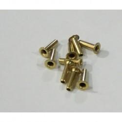 TT551 - 10 x Terminales largo / diametro medio de tectime