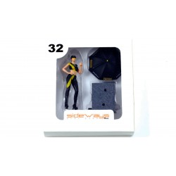 SWFIG/014 - Figura Pit Baby Pirelli + Paraguas de Sideways