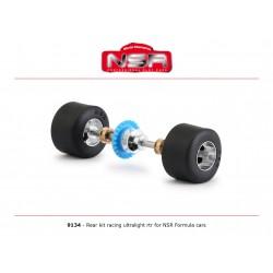 NSR9134 - Eje trasero completo ultralight Formula 1