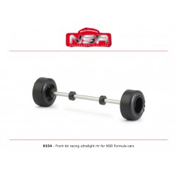 NSR9154 - Eje delantero completo ultralight Formula 1