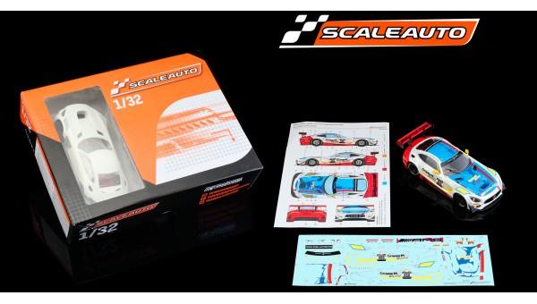SC-6277RD - MB-A GT3 10H. Suzuka 2018 Race Kit Calcas de Scaleauto