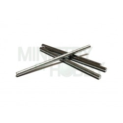 Eje calibrado de 3mm x 65mm (x2)
