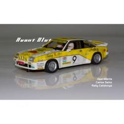 Opel Manta 400 Finley Sainz Orozco Rallye Catalunya 1984