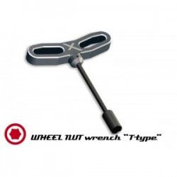 Wheel nut wrench T-Type 10mm