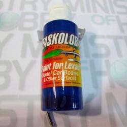 Pintura acrílica Fluorescente Azul