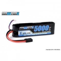 MAXXTRAX LIPO 5000MAH 11.1V 3-CELL 30C LIPO