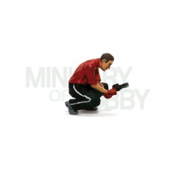 "Figura ""wheel mechanic"""