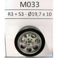 2 llantas R3 17,7x9 con neumáticos S3