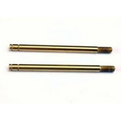 Traxxas Shock shafts, hardened steel, titanium