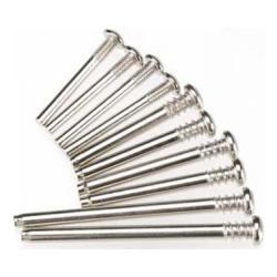 Suspension screw pin set, steel (hex drive)