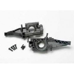 Bulkhead, rear (L&R halves)/ diff retainer, rear/4