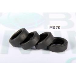 4 Neumáticos Clasicos 20x6 Lisos