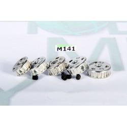 5 POLEAS MXL Z16 A Z20