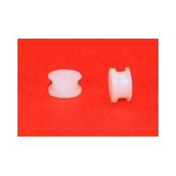 2 Cojinetes nylon doble labio