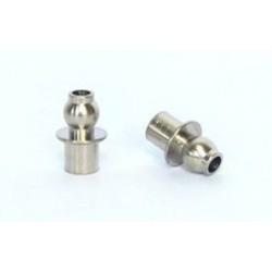 2 Cojinetes bola - teton metal D-5mm